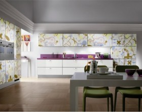 colorful kitchen cabinet designs