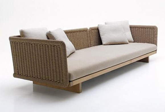 contemporary sofa decor idea