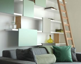 contemporary wall shelf designs