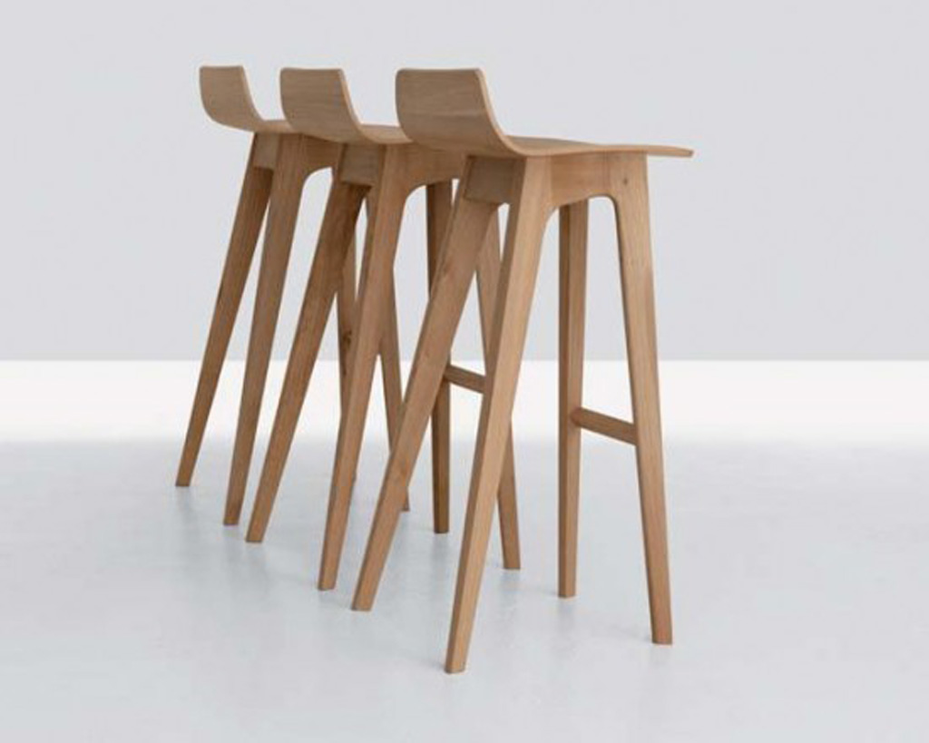 Wooden Furniture Stools ~ Contemporary wooden furniture design iroonie