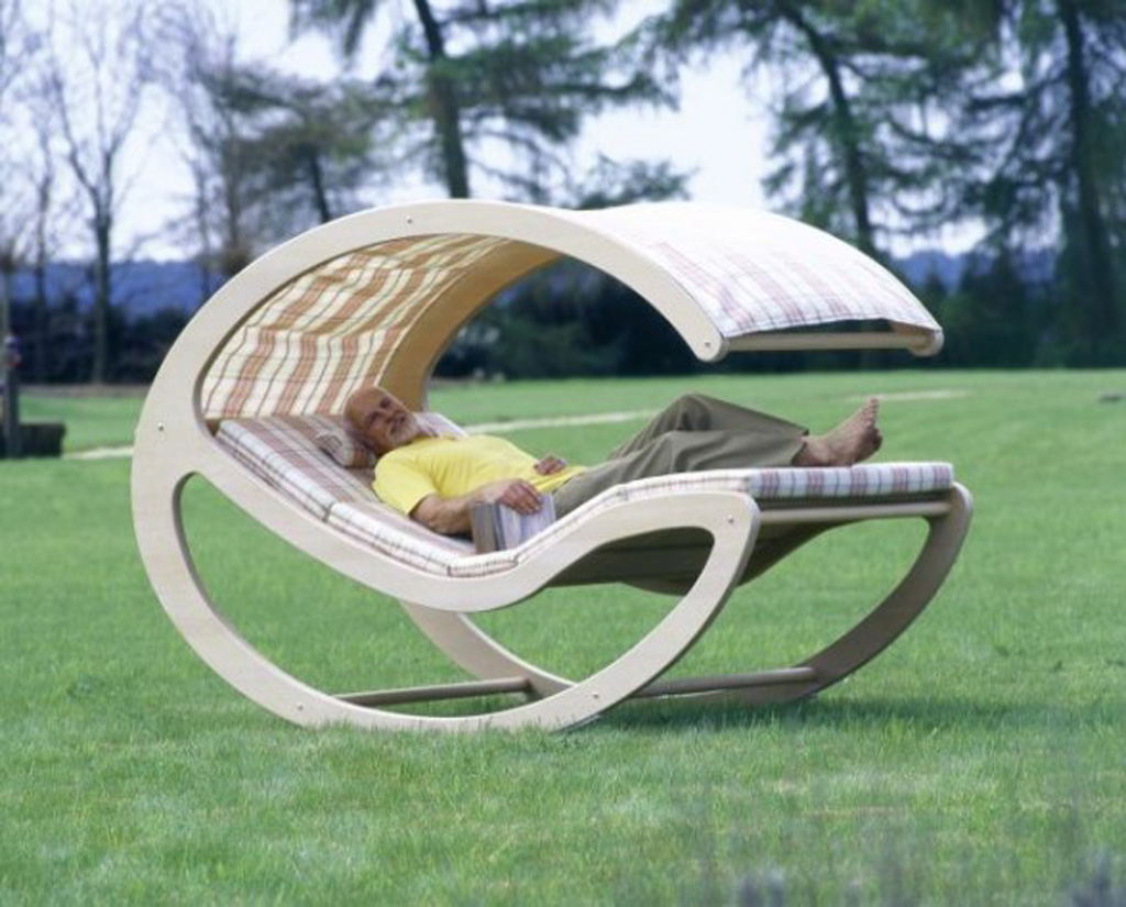 Contemporary wooden furniture design for Cool outdoor furniture ideas