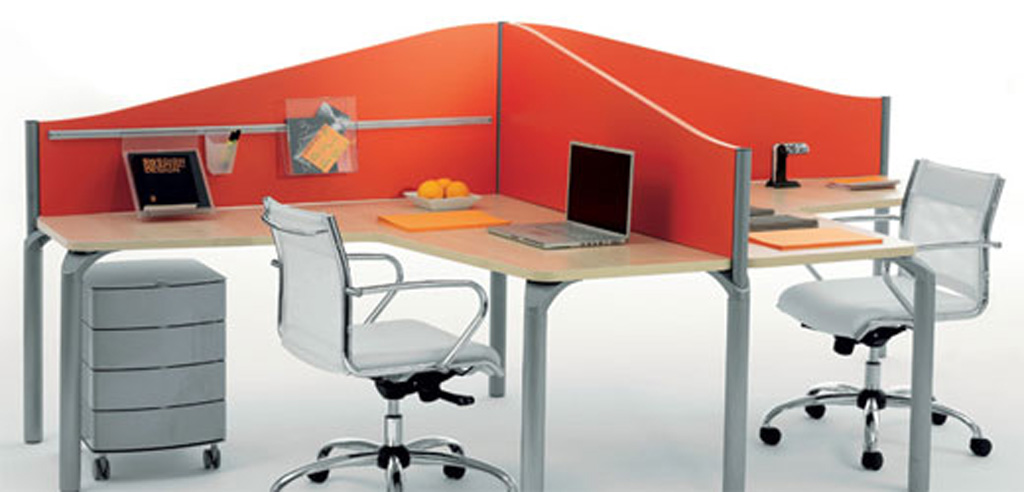 Modern minimalist office furniture designs for small office design by manerba - Design for small office space photos ...