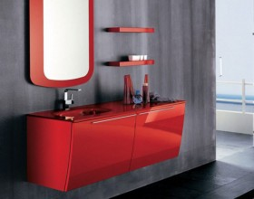 fashionable bathroom cabinet designs