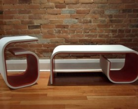 futuristic backless bench plans