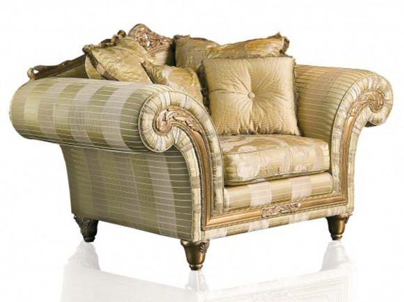 gold sofa color scheme