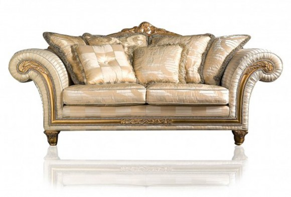 luxury armchair decor idea