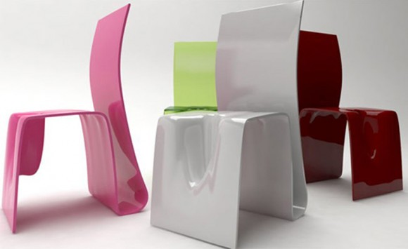 modern colorful seating furniture