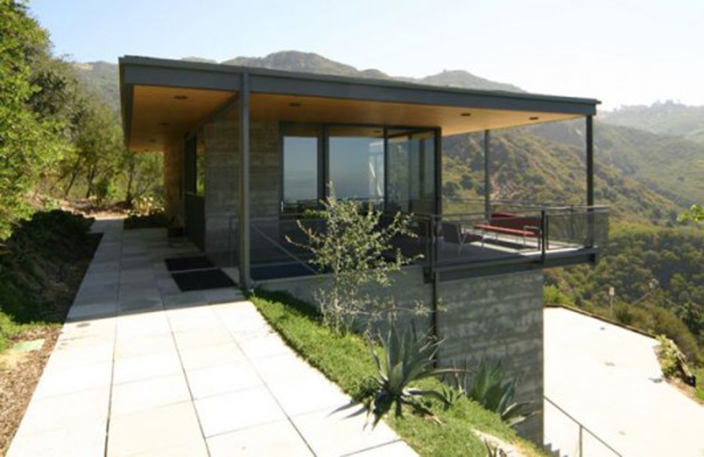 modern house hill designs
