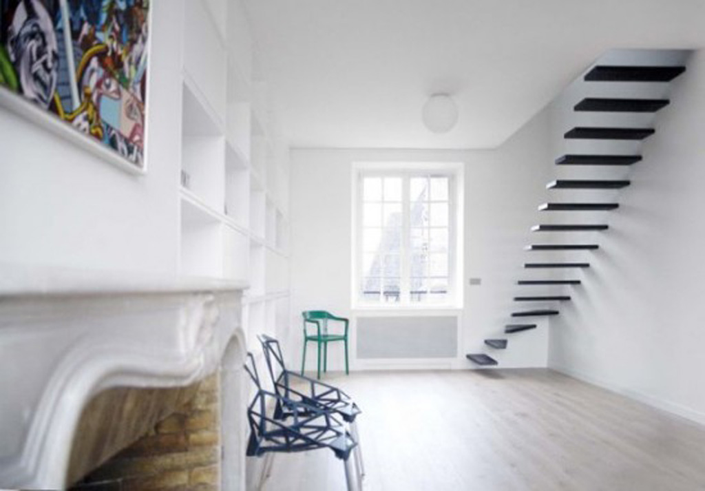 Modern small apartment decorating - Moderne appartement decoratie ...