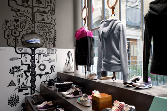 modern sportswear decorating ideas