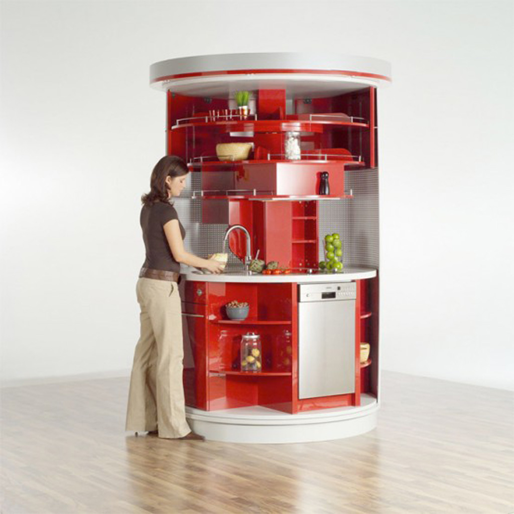 Multi functional kitchen appliance - Archietechtural kitchen design space saving ...