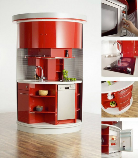 one stop functional kitchen designs