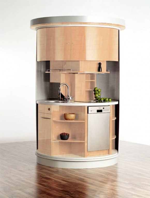 round fashionable kitchen appliance designs