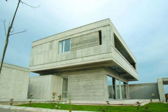 unique concrete house pictures