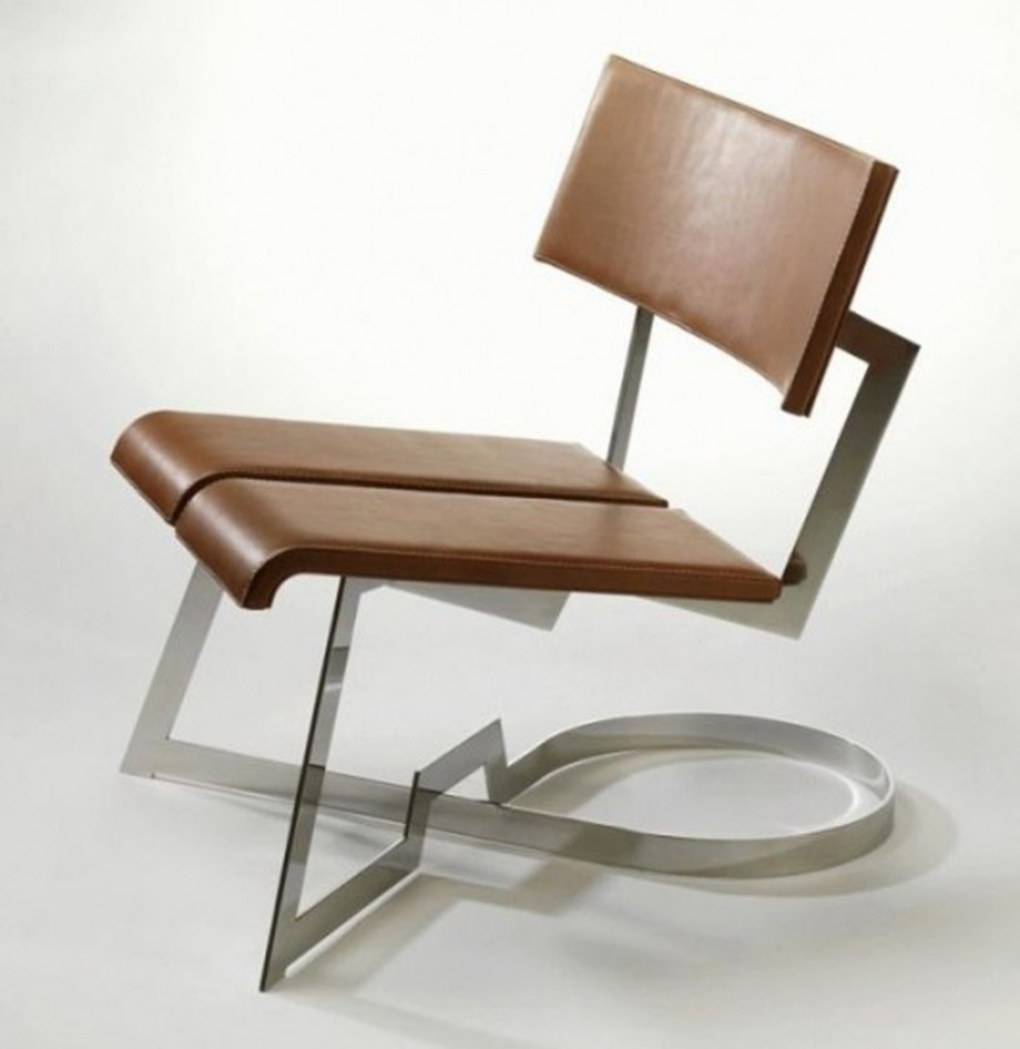 Unique leather chair designs iroonie