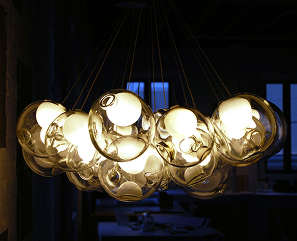 Unique Lighting Inspiration With Modern Pendant Light Glass Chandelier Image