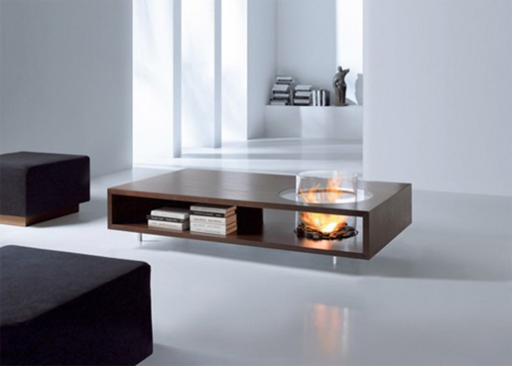 Fireplace Coffee Table