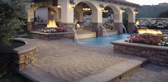 artistic swimming pool designs