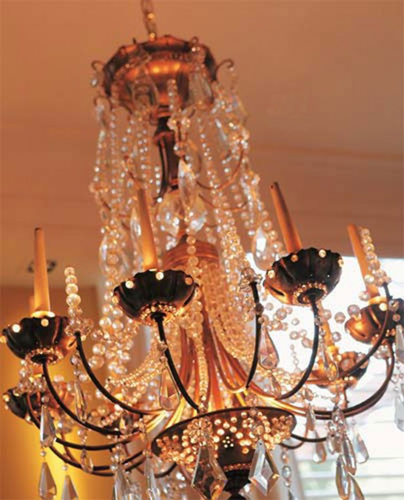 best glass chandelier decorating ideas
