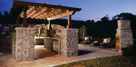 comfortable outdoor living designs