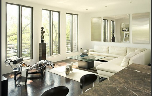 contemporary house living room decor