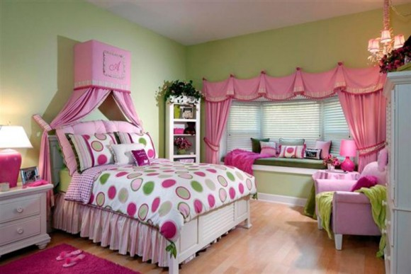 fancy girls room plans