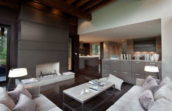 integrated kitchen space design