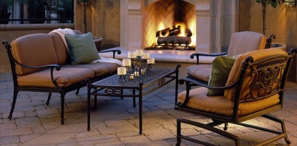 luxury fireplaces decorating idea