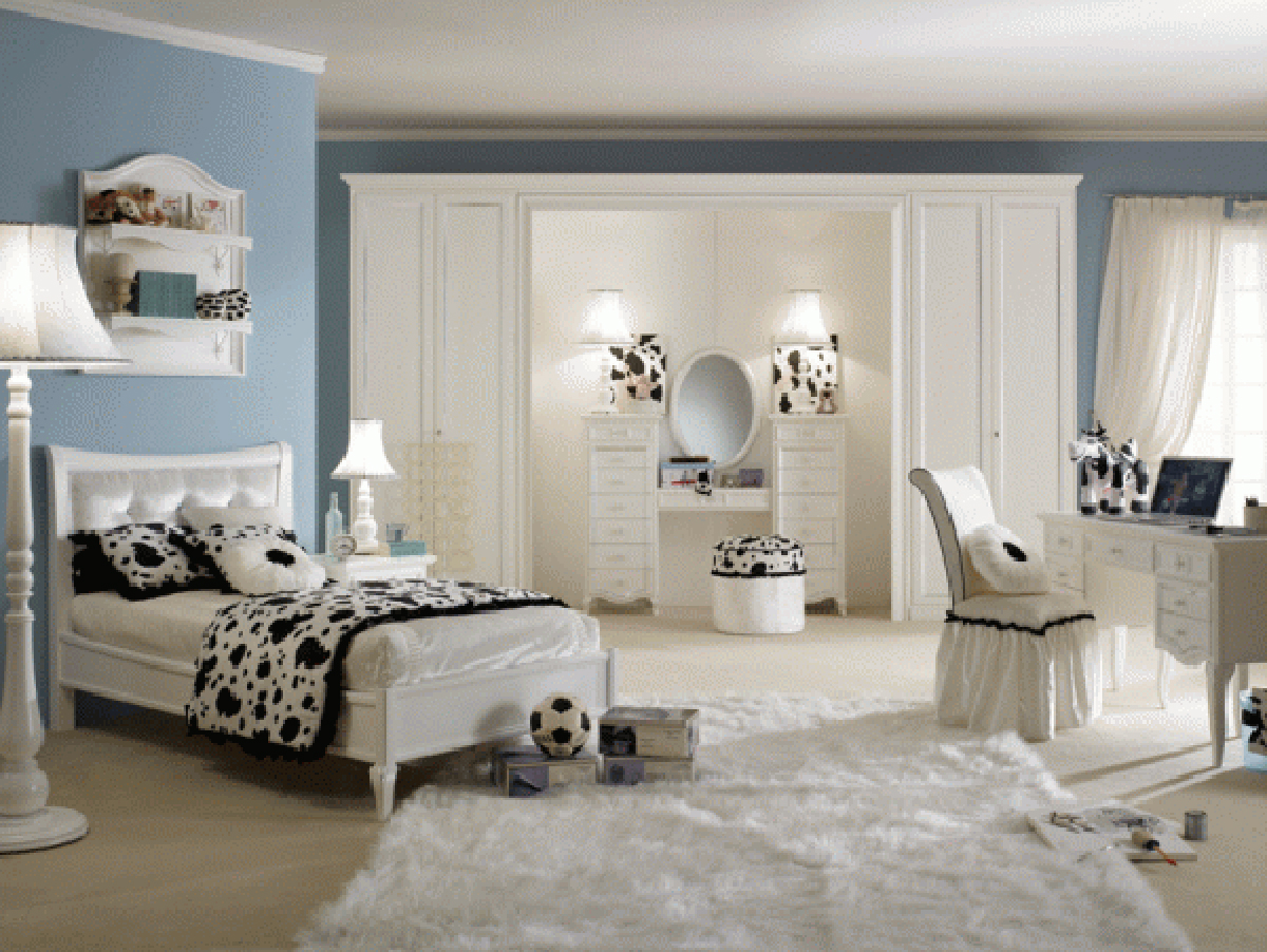 Luxury teenage girl room designs for Pictures of teenage girl rooms
