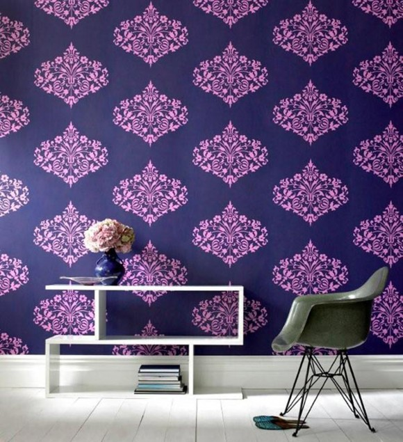 luxury wall covering paper designs