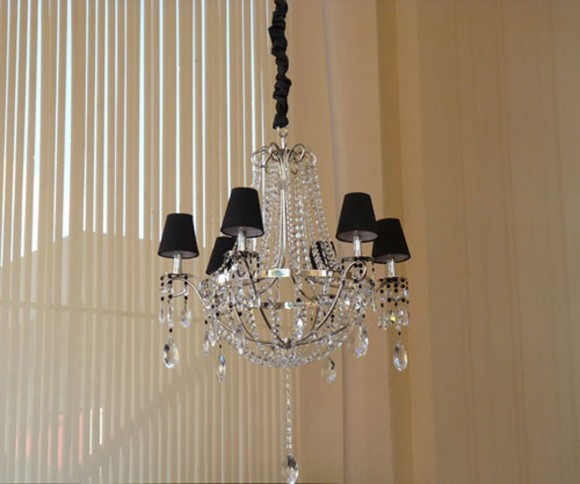 modern black chandelier lighting plans