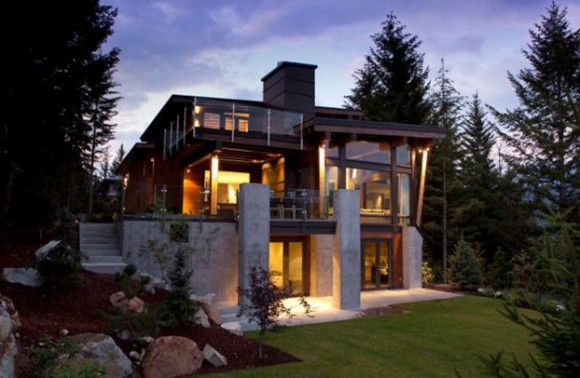 modern country house pictures