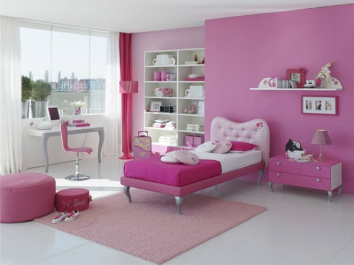 Pics Photos Fancy Modern Pink Girls Room Decor Classic