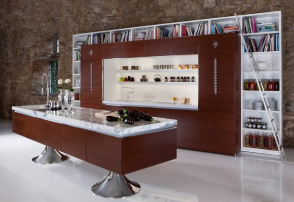 multi-functional kitchen cabinet designs