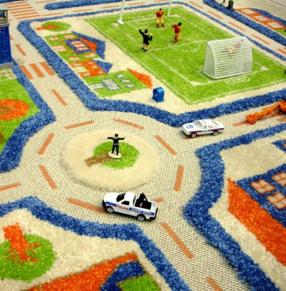 rug kids play ground idea
