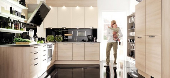 simple contemporary kitchen decorating ideas