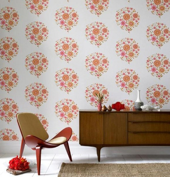 simple wallpaper design ideas