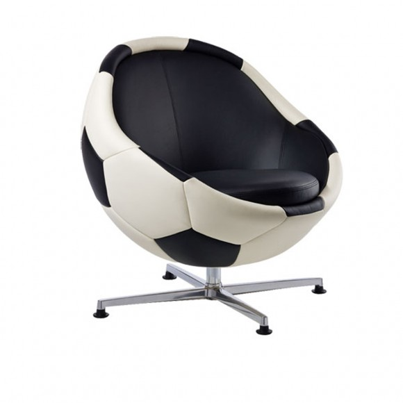 soccer leather chair designs