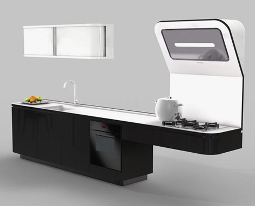 Space Saving Kitchen Photos Iroonie.com #AE701D 1024 826 Veneta A Cucine