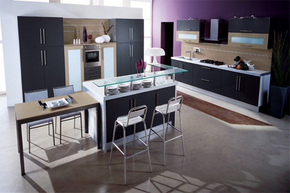 space saving modern kitchen ideas