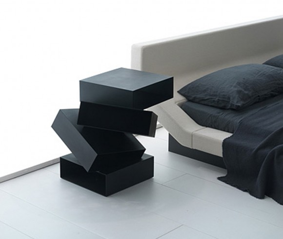 Modern Bedside Cabinets And Table Designs From Porro Furniture Irooniecom