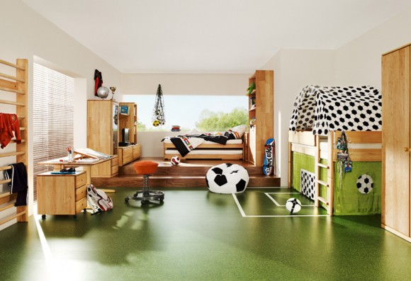 wooden soccer furniture designs