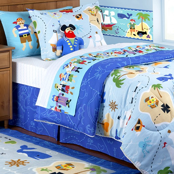 cartoon character kids bedding decor