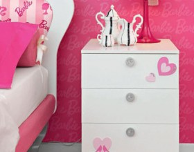 casual pink teenage room plans