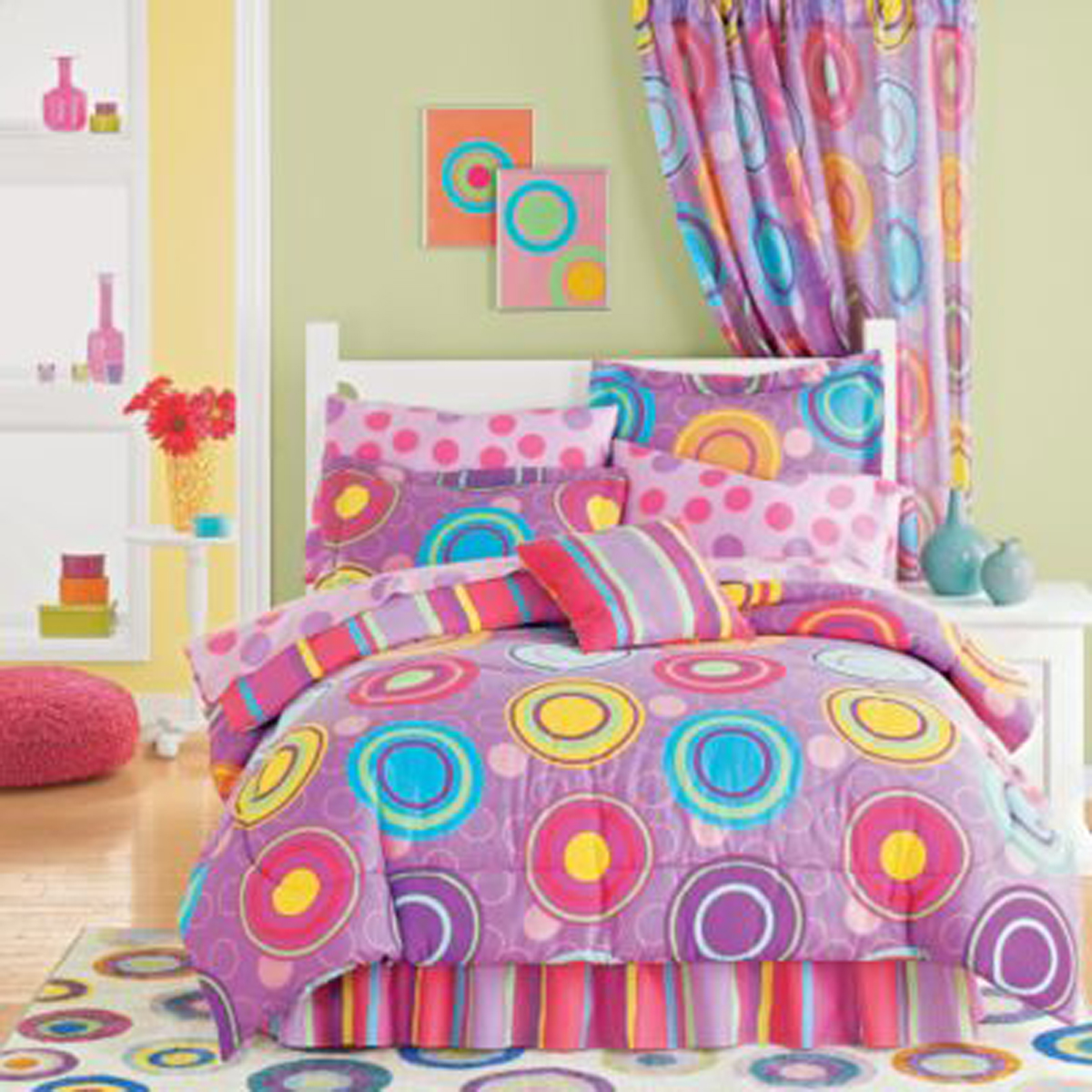cheerful kids room decorating ideas