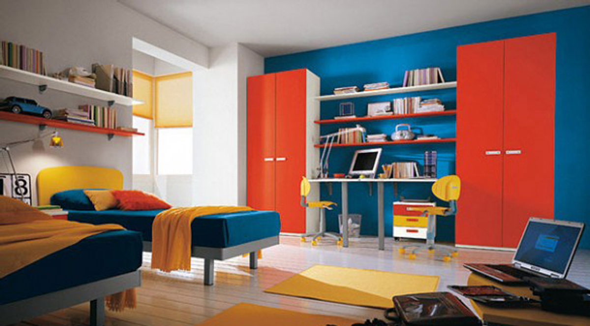 Comfortable kids bedroom plans - Kids room color combination ...