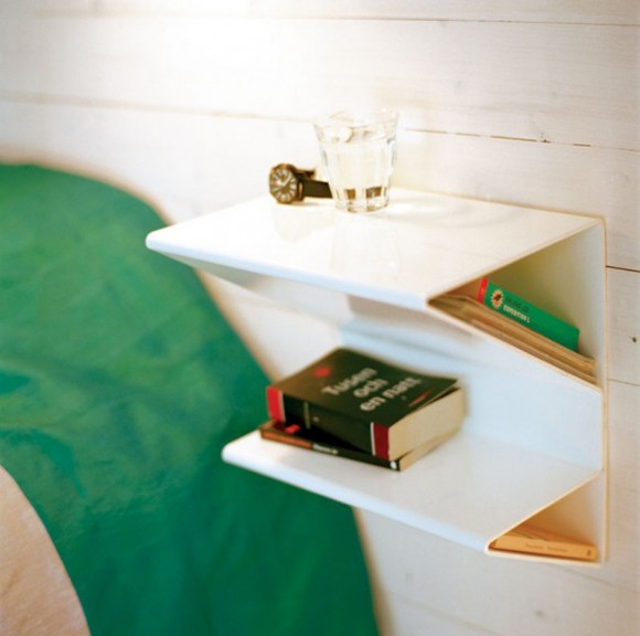 contemporary bedside table designs