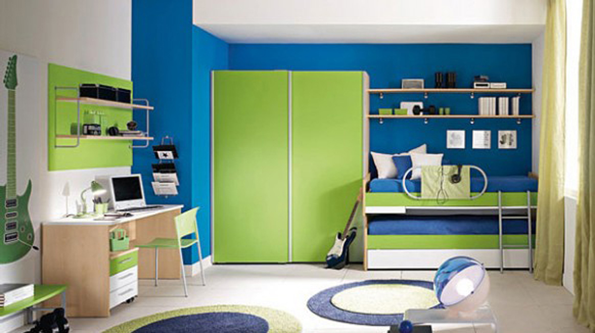 Diligent kids bedroom layouts - Kids room color combination ...