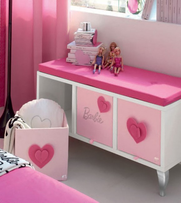 feminine teen room furniture designs