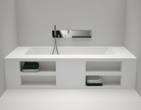 functional white bathtub designs